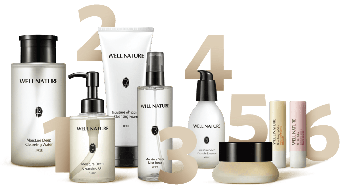 Well Nature Skincare Product Series