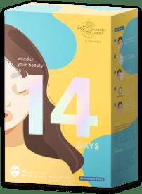 14 Days WonderDewi Daily Sheet Mask Series