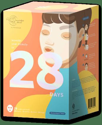 28 Days WonderDewi Daily Sheet Mask Series