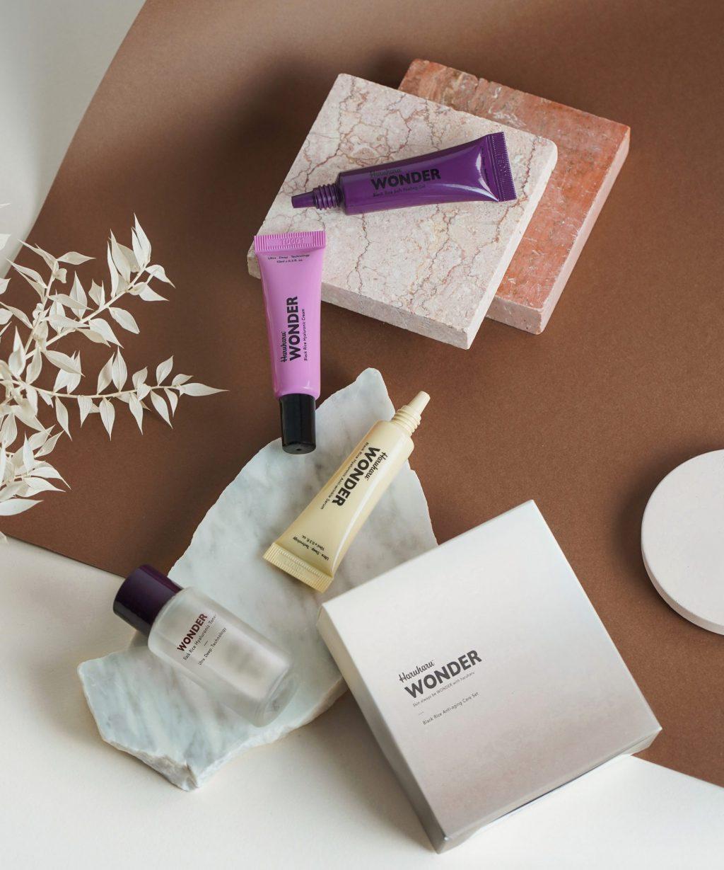 WONDER Black Rice Miniature Set – Skin Care For Anti-Aging