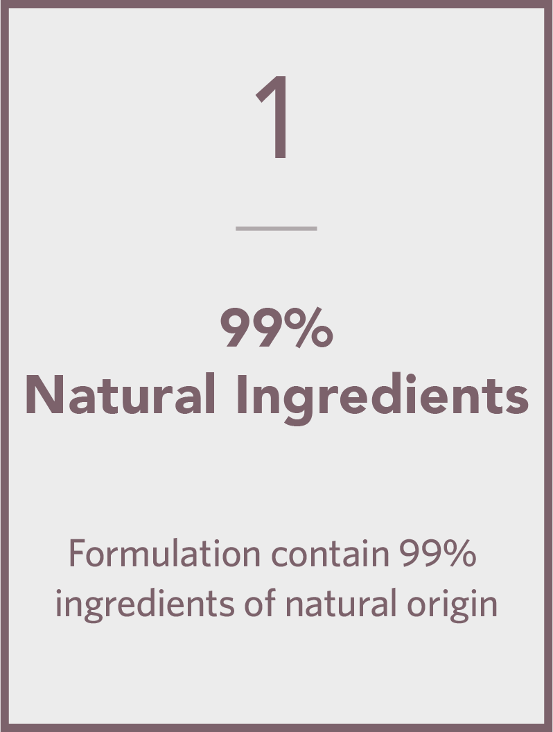 99% Natural Ingredients