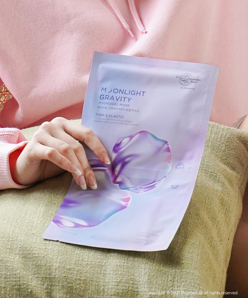 Moonlight Gravity Hydrogel Mask Set