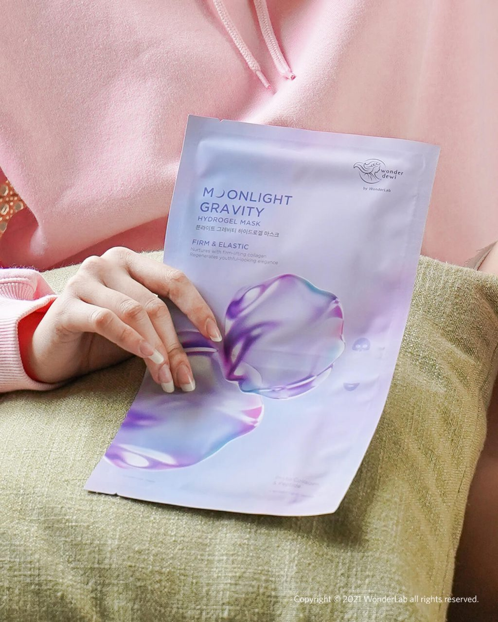 Moonlight Gravity Hydrogel Mask
