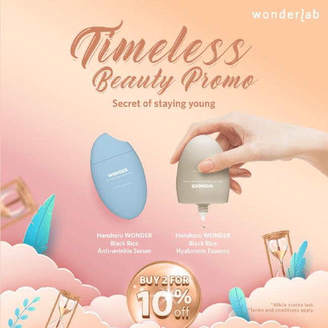 timeless beauty promo
