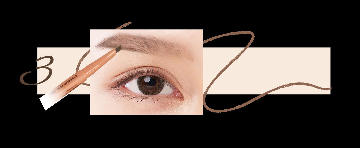 step 3 eyebrow