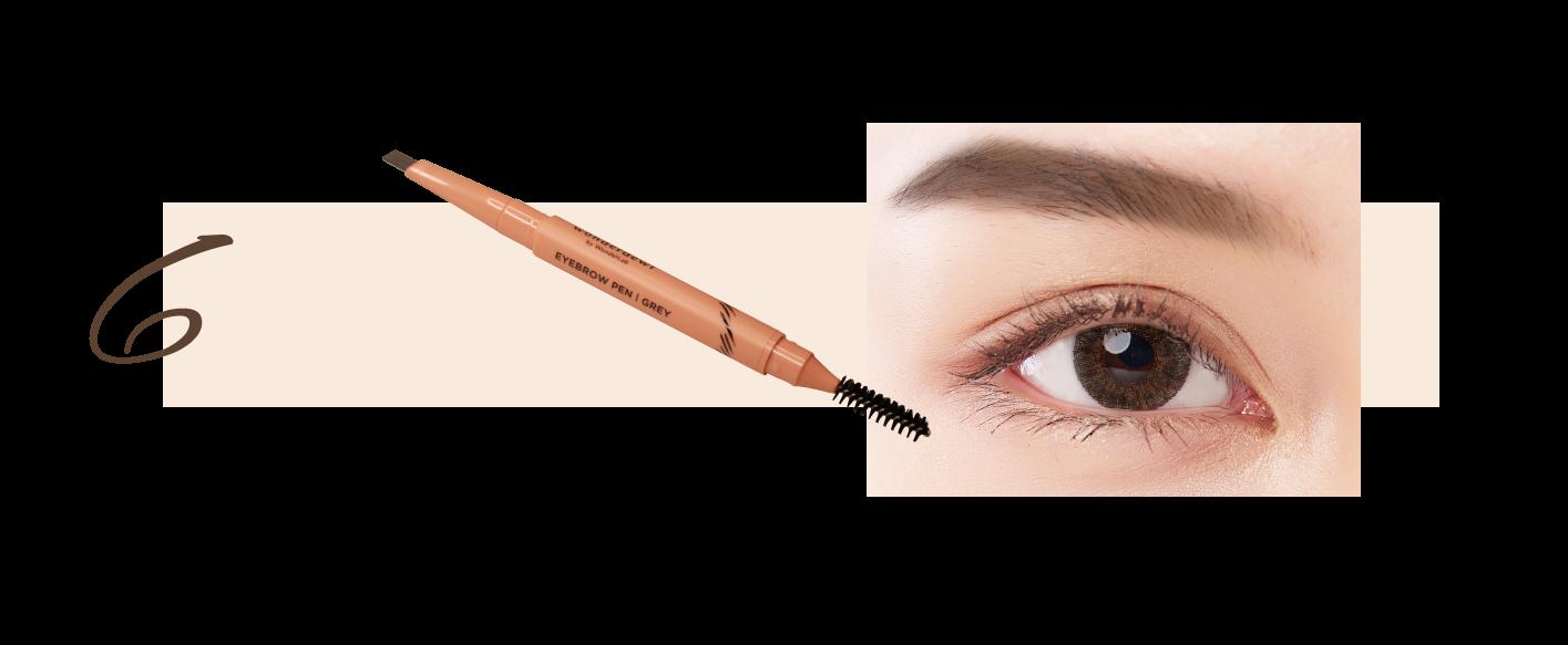 step 6 eyebrow
