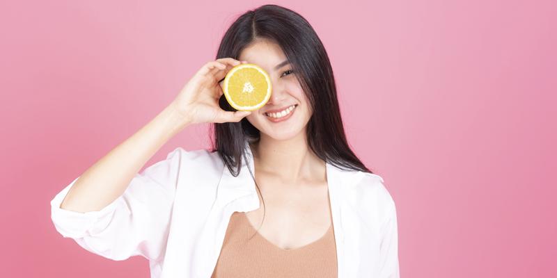 vitamin C drink banner