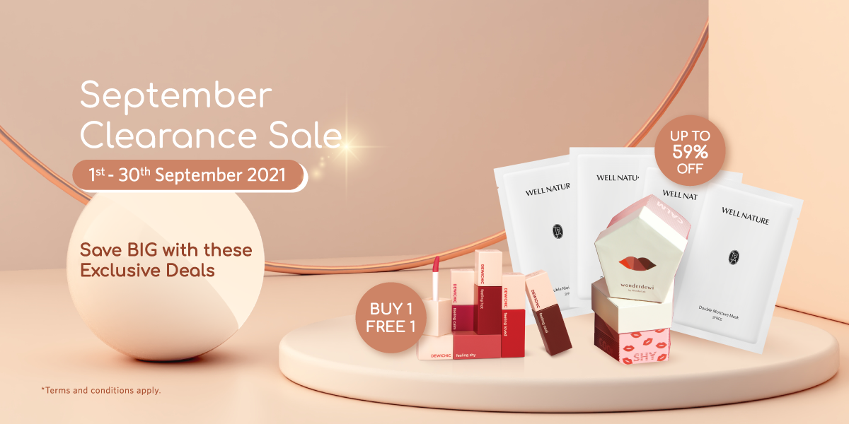 1200x600 September Clearance Sale Promo Page 1